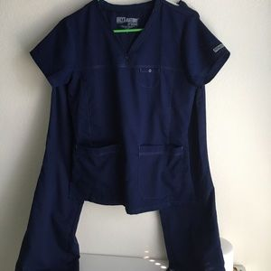 Greys anatomy scrubs set